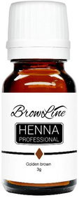 Хна для бровей BROW LINE, цвет Golden brown 0